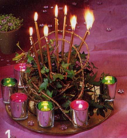 Fetes diverses - Bouquet centre de table noel ...